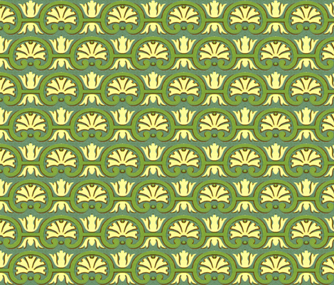 17eme siecle 53 fabric by hypersphere on Spoonflower - custom fabric