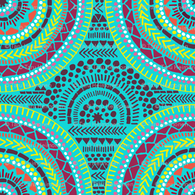 Rafrican-circle-turquoise_preview