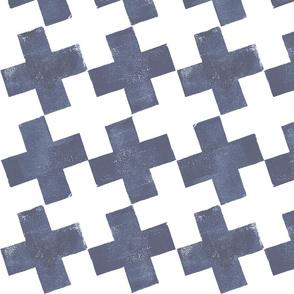 Plus Pattern - large scale