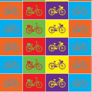 Pop Art Bicycles