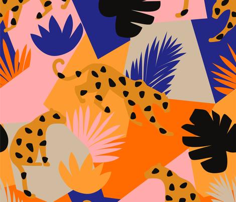 amur-leo fabric by decografie on Spoonflower - custom fabric