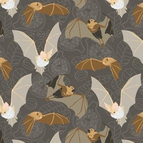 "Bats And Figs - Small 4.5"" Repeat"