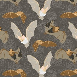 "Bats And Figs - Large 6"" Repeat"