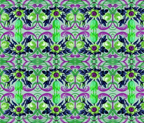 17eme siecle 63 fabric by hypersphere on Spoonflower - custom fabric