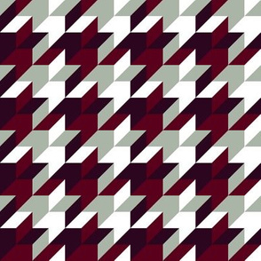 harlequin houndstooth - elegant holiday