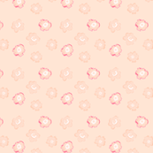 Pink flowers on a light background