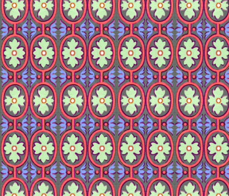 17eme siecle 71 fabric by hypersphere on Spoonflower - custom fabric