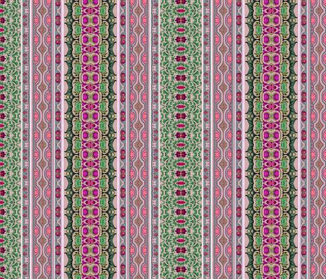 17eme siecle 74 fabric by hypersphere on Spoonflower - custom fabric