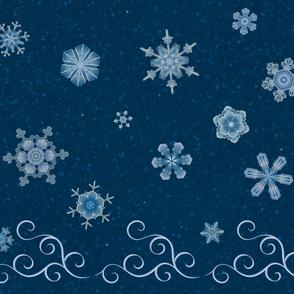 Snowflakes & Swirls