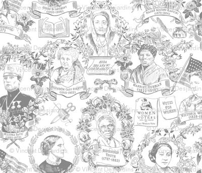 Feminist Pioneers Gray Small