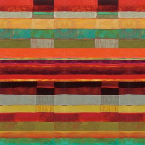 Earthy Textured Stripe