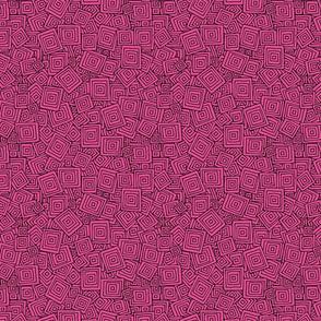 Organic Geometry - Plain Pink