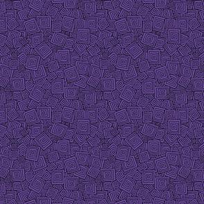Organic Geometry - Plain Purple