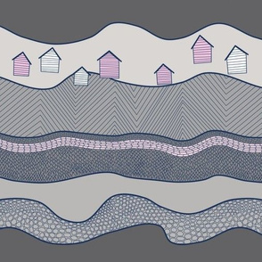 Geology Stripes/Floating Houses
