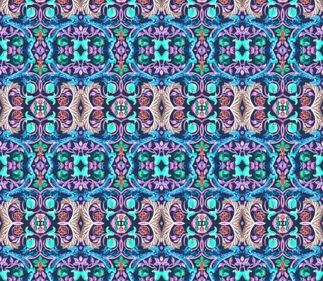 17eme siecle 82 fabric by hypersphere on Spoonflower - custom fabric