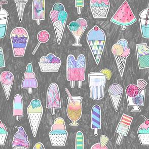 Popsicles, ice cream, summer, ice , icecream