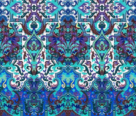 17eme siecle 87 fabric by hypersphere on Spoonflower - custom fabric
