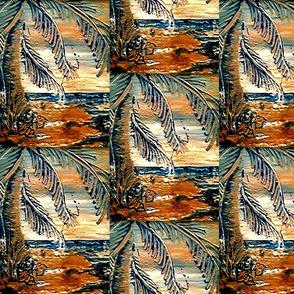palmfrondemboss halfdrop