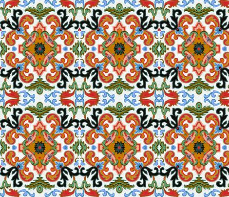 17eme siecle 97 fabric by hypersphere on Spoonflower - custom fabric