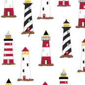 Lighthouse White Directional