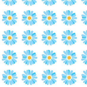 Blue daisy-large