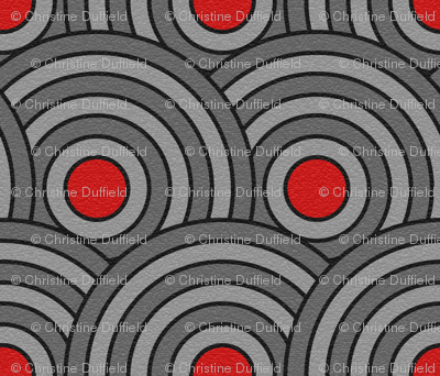 Lapped concentric circles