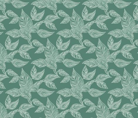 Conservatory_Arbour_Seamless_3600x3600 fabric by raymondwarenyc on Spoonflower - custom fabric