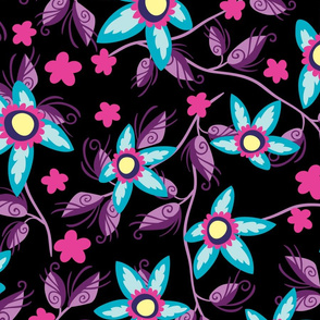 Wildflowers Neon