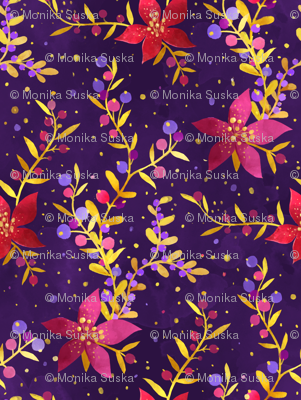 Holidays floral