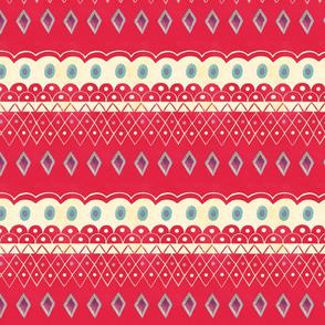 Folk Santa pattern