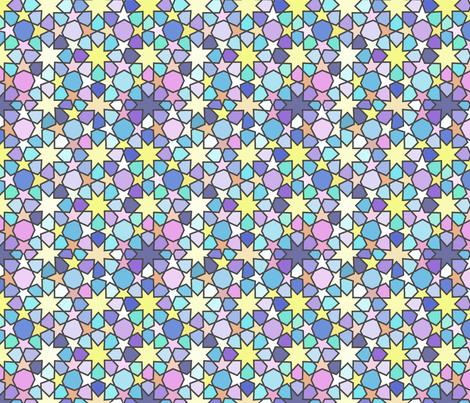 Arabian Sky Stars fabric by inspirationz on Spoonflower - custom fabric