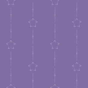 Starry Stripe: Violet 7+5