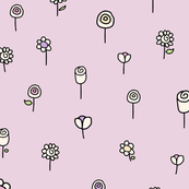 Pretty Pink Floral Pattern