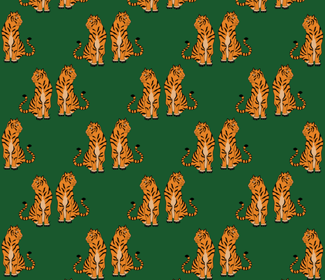 Standing Guard fabric by dreams_and_whimsy on Spoonflower - custom fabric