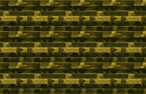 French Linen shiplap dark gold black fabric by barbarapritchard on Spoonflower - custom fabric