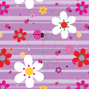 FlowersWithLadybugsPurple_90Degrees_CW