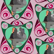 2941 Dusky Moorhen Nouveau#1-Pink