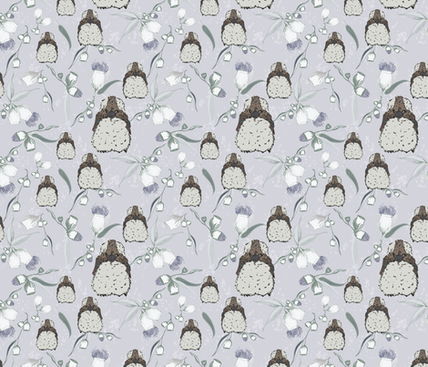 Kookaburra Baby Mist-01 fabric by natty1 on Spoonflower - custom fabric
