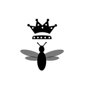 Bee w Crown Stamp