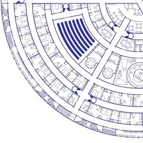 Deck Plan Blueprint