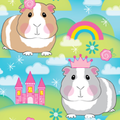 princess guinea pigs