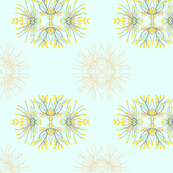2941 Phebalium-Abstract-Aqua