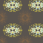 2941 Phebalium-Abstract-Brown