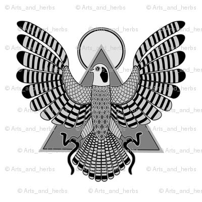 The Falcon God (small)