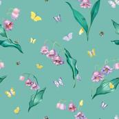 MayLily _ Butterfly Pattern 300dpi