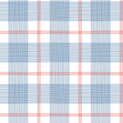 Red White and Blue Grid