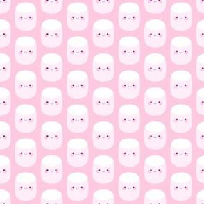 Cute pink marshmallows