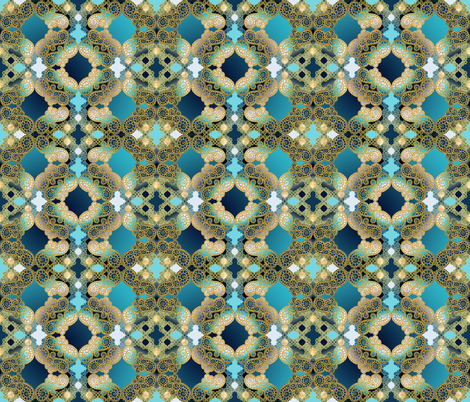 Marrakesh design challenge  fabric by pearlposition on Spoonflower - custom fabric
