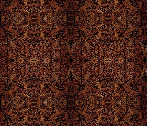 Carved Leather fabric by steadythreadsstudio on Spoonflower - custom fabric