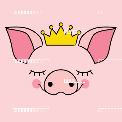 princess pig-faces-no-outline